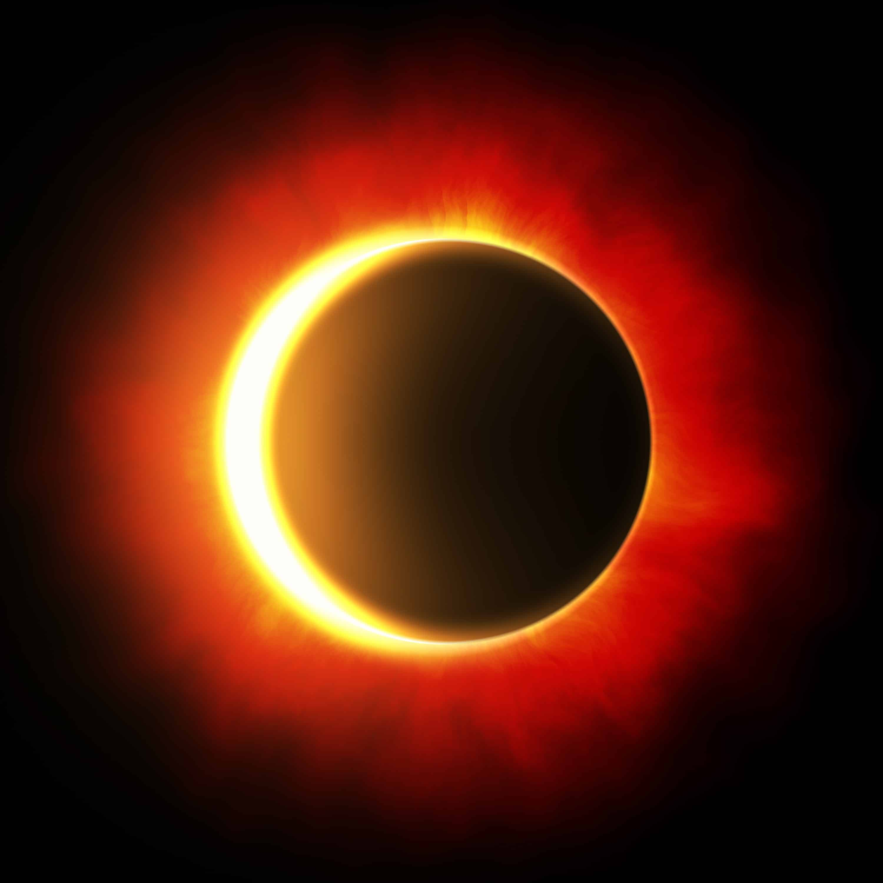 Solar Eclipse Consumes What You Want To Release | Conscious Calendars