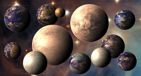 many planets in sky