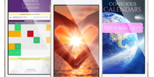 Align with the Sun, Moon and Planets with Conscious Calendars